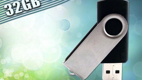 Len 12,99 € za 32-gigabajtové vysokorýchlostné USB 2.0! Prenášajte svoje dáta s neuveriteľne rýchlym čítaním dát až 24 MB/s! Poštovné je v cene.