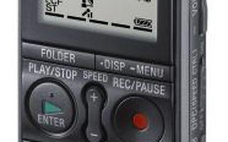 Digitální diktafon se stereofonním mikrofonem SONY ICD-AX412FS