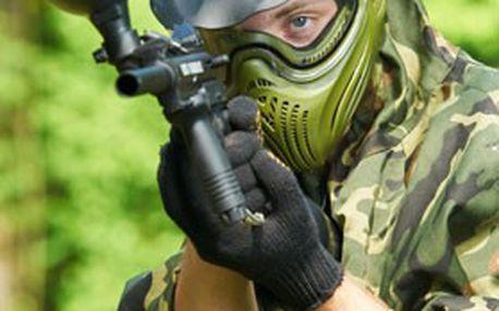 Brno: PAINTBALL NA 4 HOD. + zapůjčení zbraně, vzduchu a nemlžící masky. Zažijte pořádnou JARNÍ dávku adrenalinu!