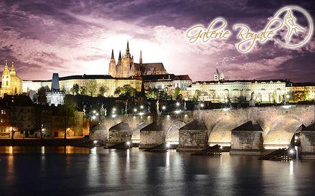 37 € za prenocovanie s raňajkami pre 2 osoby v hoteli s atraktívnou polohou v centre Prahy. Ubytovanie v 4* hoteli Galerie Royale s 54% zľavou.