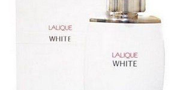 Pánská vůně Lalique White 125 ml. Hluboce svůdná citrusová mužnost.