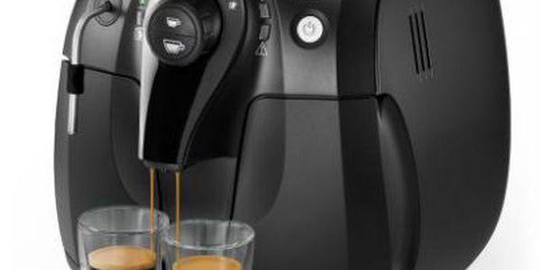 Automatický espresovač PHILIPS Saeco HD 8743/19 - připraví jedinečné espresso stisknutím jediného tlačítka