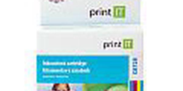 PRINT IT HP C8728 - 8594158522313. Náhradní barevná náplň obsahující modrou, červenou a žlutou barvu