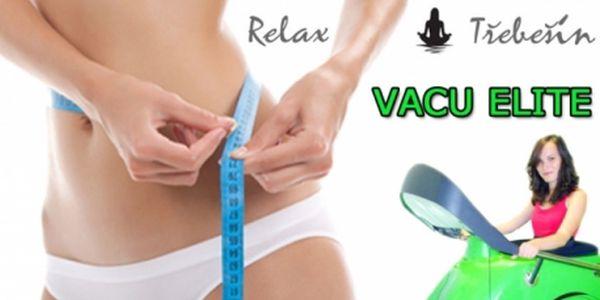 70 kč za 30 min. Vacu elite nebo 700 kč za 12x30 min. Permanentku v centru relax třebešín! Cvičte efektivně a spalujte tuky na maximum!