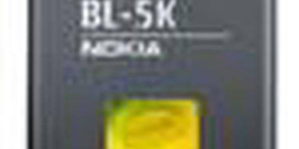 Nokia baterie BL-5K Li-Ion 1200 mAh. Náhradní baterie pro mobilní telefony Nokia N85, N86 8MP