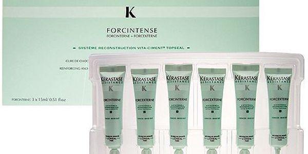 Kérastase Resistance Forcintense 3x15ml. Inovovaná velmi intenzivní péče pro vlasy