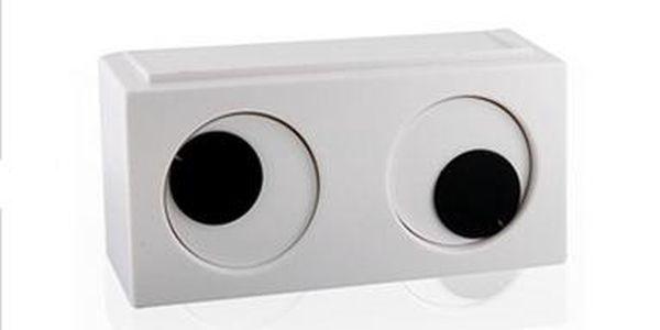 Originální hodiny v podobě očí - bílé a poštovné ZDARMA! - 55