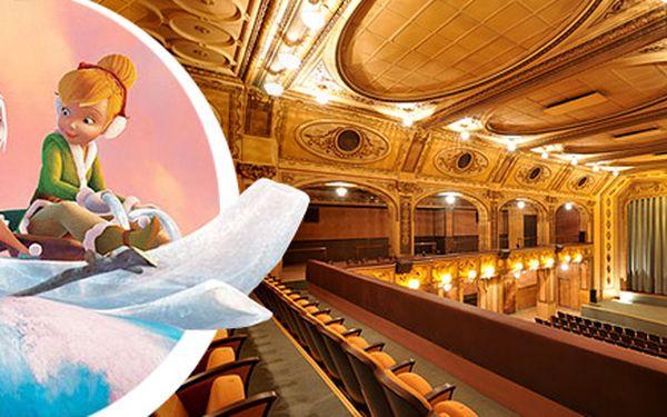 Lístky na dětské animáky v kině Lucerna