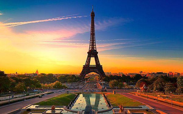 Velikonoční pětidenní výlet do Paříže pro náročné s ubytováním na dvě noci a se snídaní.