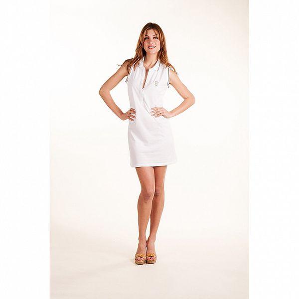 Dámske biele plážové šaty Gianfranco Ferré
