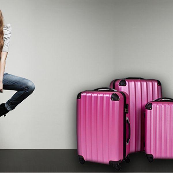 Sada 3 cestovních kufrů z kolekce TicTac
