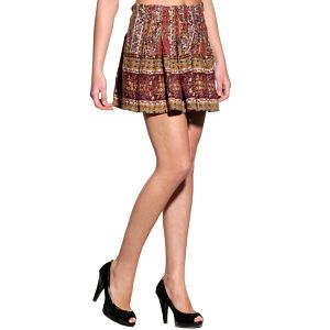 Dámska pestrofarebná sukňa Replay s potlačou