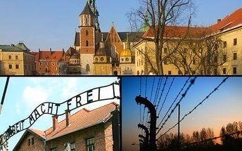 Vydejte se na výlet do polské Osvětimi a Krakowa s 52% slevou!