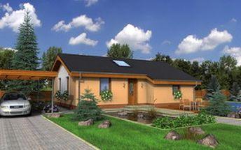 """Zľava až 5800€ (10%) na nízkoenergetický """"Domček snov"""" s názvom BUNGALOW 10 , len s našim zľavovým kupónom za 3€!"""