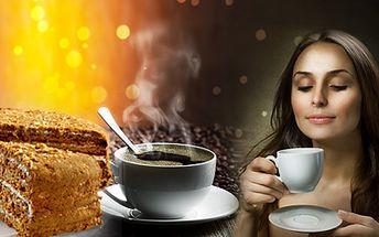 Příjemné posezení v kavárně STEP se slevou 50%! 2x KÁVA Lavazza a 2x MEDOVNÍK za skvělých 99 Kč! Přijďte si k nám vychutnat vynikající italskou kávu se sladkým medovníkem!