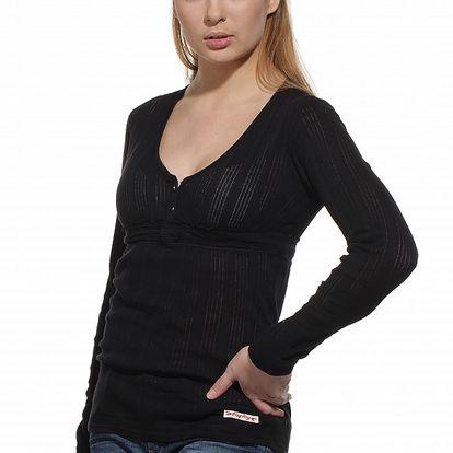 Dámsky čierny sveter Replay