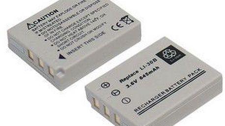 AVACOM baterie pro Olympus LI-30B Li-ion 3.6V 645mAh