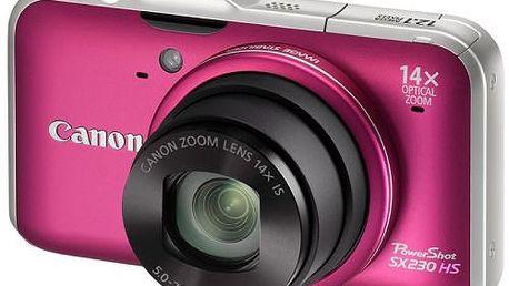 Kompaktní superzoom Canon PowerShot SX230