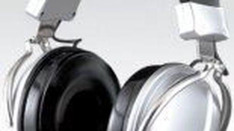 Sluchátka KOSS TD 85. Velmi robustní model, výborné zatlumení okolí.
