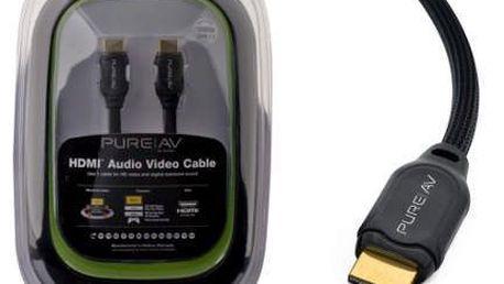Belkin AV Black HDMI-HDMI Audio Video 3 m. Jedny z nejvyšších a nejkvalitnějších kabelů v nabídce Belkin