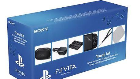 SONY PlayStation Vita Travel Kit. Užívejte si systém PS Vita s příslušenstvím na cesty, ať jste kdekoli