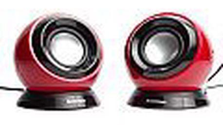 Reproduktory Lenovo Portable Speaker 2.0 M0520 růžové