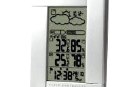 OREGON SCIENTIFIC BAR388HG. Meteostanice - rádiem řízené hodiny, budík, vnitřní/ venkovní teplota
