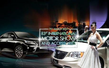 Zažite neopakovateľnú atmosféru prestížneho autosalónu v Ženeve - AUTOSALÓN ŽENEVA 2013! Zájazd vrátane DOPRAVY a VSTUPENKY môžete mať už za úžasných 80 € !
