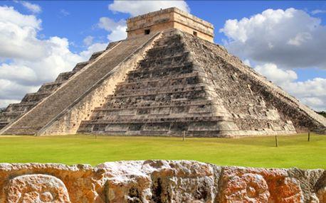 LAST MINUTE: Poznávací zájezd po Mexiku. Poznejte nejkrásnější místa a památky Mexika. Termín 6.3.-18.3.