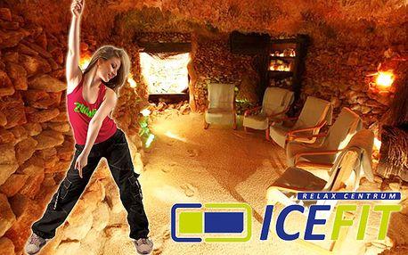 Len 19,99 € za 10-vstupovú permanentku na tanečnú fitness hodinu zumby a k tomu 5 vstupov do originálnej soľnej jaskyne v ICE FIT Relax Centrum.