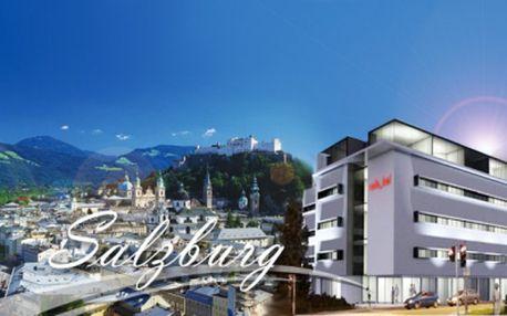 Zažite 4 * luxus v centre historického Salzburgu! Ubytovanie na 4 alebo 3 dni pre 2 osoby vrátane bohatých raňajok formou rautu za neodolateľnú cenu už od 149 Eur! Poukaz platný 3 roky!