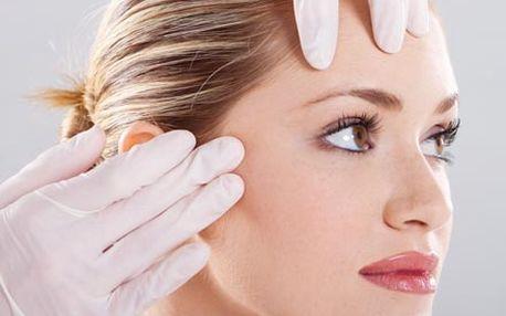 Hodinové kosmetické ošetření pleti, včetně hloubko...
