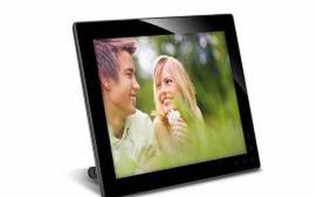 """Digitální rámeček AgfaPhoto, LED 10"""" (25,4cm), 4:3, 800*600, JPE"""