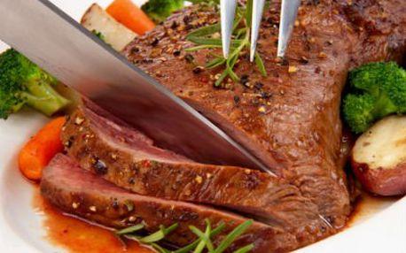 900 g masa pro 3 i více osob, k tomu bohatá příloha!