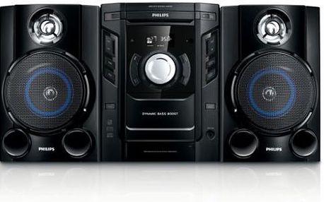 Minivěž PHILIPS FWM154 s optimalizovaným nastavením pro různé styly hudby