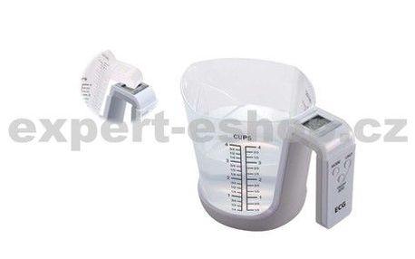 Kuchyňská váha s odnímatelnou odměrkou (1000 ml), ECG KV 119