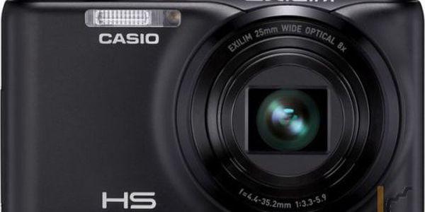 Digitální fotoaparát Casio EXILIM ZR20 bílý + 8GB karta zdarma!