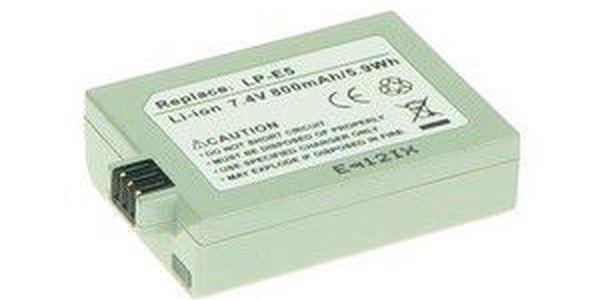 AVACOM baterie pro Canon LP-E5 Li-ion 7.4V 800mAh 5.9Wh