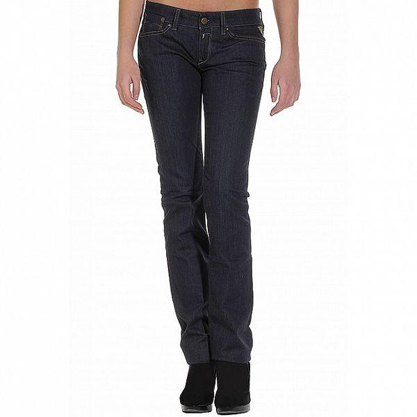 Dámské tmavě modré džíny Replay s ozdobnými zipy