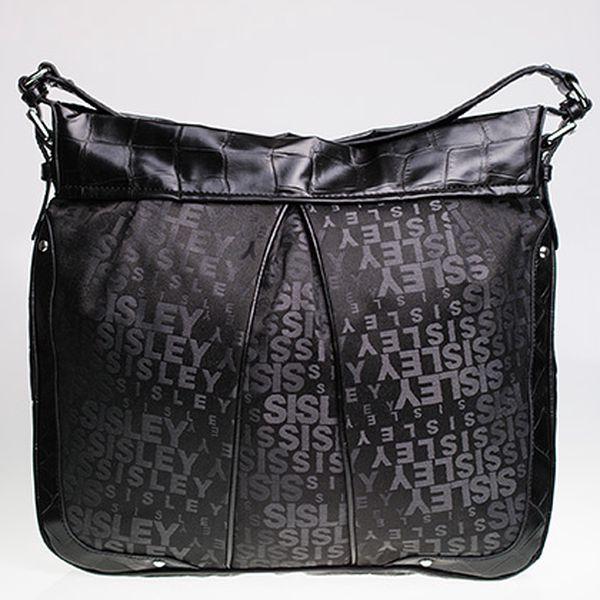 Stylová černá kabelka