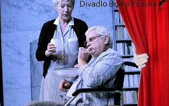 Tři představení v divadle Bolka Polívky od 199 Kč v Brně! K. Roden, M. Táborský a další!