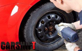 Prezutie a vyváženie pneumatík po zimnej sezóne za 10,90 € po 61% zľave.