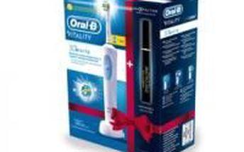 Základní oscilační zubní kartáček Braun Oral-B D12.513 s bělící hlavicí 3D White