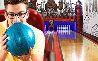 Prenájom bowlingovej dráhy na 1 hodinu pre 8 osôb v len za 4,30 €! Vezmite priateľov alebo partiu a užite si super zábavu!