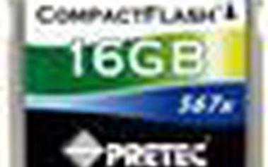 Superrychlá paměťová karta typu CompactFlash CompactFlash CF567x 16GB