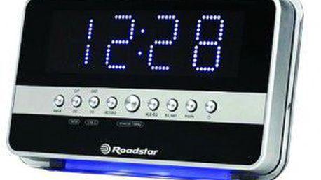 Radiobudík Roadstar CLR 2630 RD snadné usínání při oblíbené hudbě.