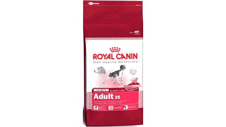 Royal Canin Medium Adult 15 kg. Kompletní krmivo pro dospělé psy středních plemen.