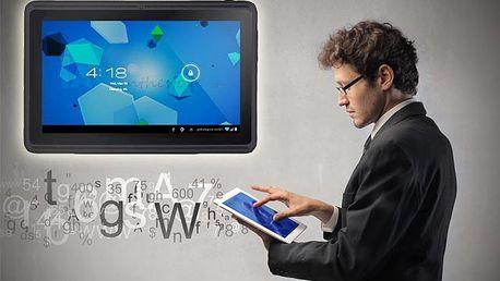 Len 85 € za 7 palcový tablet s Androidom 4. Digitálny spoločník na prácu aj zábavu so zľavou 48%.