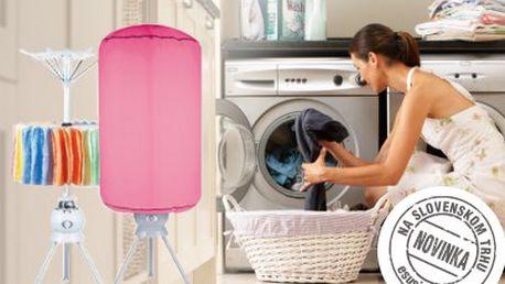 Revolučný elektronický sušiak na prádlo za 54,10 €! Poštovné po celej SR zdarma!