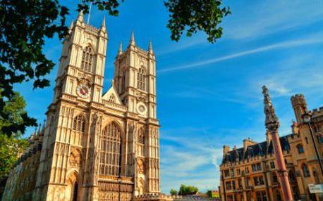 Čtyřdenní výlet do Anglie i s ubytováním a dopravou!
